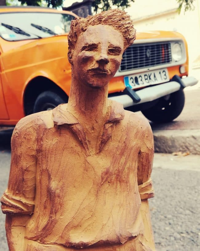 Marius - Modelage en Grès brut
